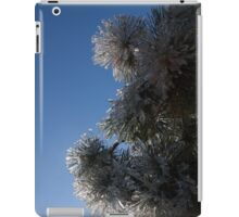 Ice Flowers in the Sky iPad Case/Skin