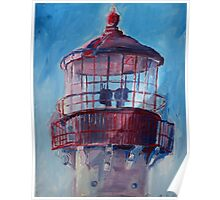 Lighthouse At West Cape May Poster