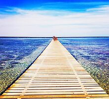 Red sea pier by sunnybeuk