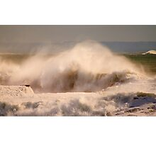 rough sea Photographic Print