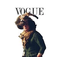 Snape's Vogue cover by MeganHilleard