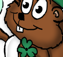 Irish Chipmunk Sticker