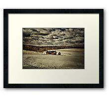Spring Snows Framed Print