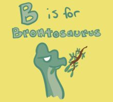 B is for Brontosaurus Kids Clothes