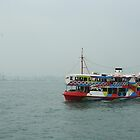 Painted Ferry, Hong Kong by Maggie Hegarty