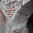 Texture of bricks - Nepal by indiafrank
