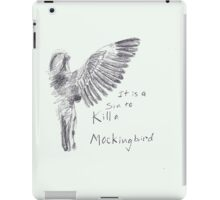 To Kill a Mockingbird - Transparent iPad Case/Skin