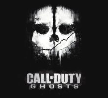 Call of duty ghosts skull by touhidkudchi