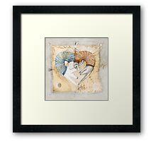 Love Sleep II Framed Print