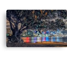 Balmain Tree Canvas Print