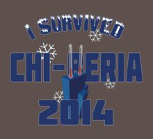 I Survived Chi-Beria 2014 (blue) Kids Clothes