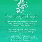 Affirmation - Inner Strength and Power by CarlyMarie