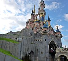 Walt-Disney Paris Castle by viajaentren