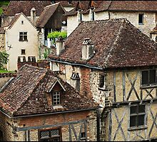 """"""" A Hillside Village with History"""" by mrcoradour"""