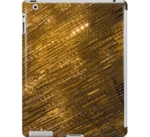 Sparkling Precious Gold, Gems, Jewels and Crystals iPad Case/Skin