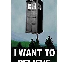 I Want to Believe ( iPhone & iPod Cases ) by PopCultFanatics