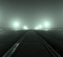 Foggy Bridge by liminalstate