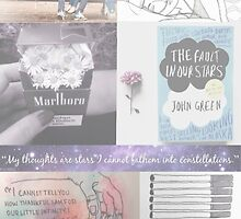 The Fault in Our Stars Collage by Sam Dixon