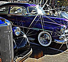 Blue Auto Bling by Bob Moore