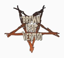 Brown Leaf Vertigo Pentagram by Michael Andrew