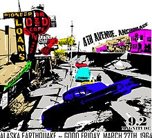 4TH AVENUE POP ART 9.2 MAGNITUDE by Ed Rosek