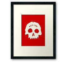 Redshirt Framed Print