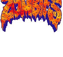 Flatbush Zombies Logo - Orange/Blue by Ben McCarthy
