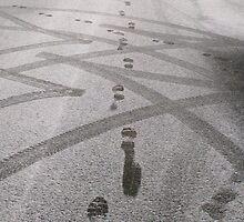 Footprints in the Snow by Vanessa  Warren