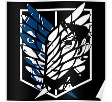 Eren Jaeger Scouting Legion (Attack On Titan) Poster