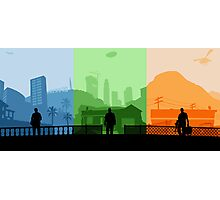 Grand Theft Auto: Trio Photographic Print
