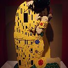 "Lego, "" The Kiss"", Art of the Brick Exhibition, Nathan Sawaya, Artist, Discovery Times Square, New York City   by lenspiro"