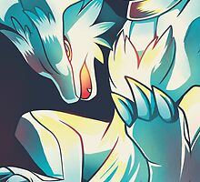 reshiram by Colordrilos