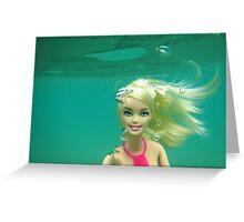 Bathing Beauty Greeting Card