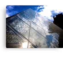 Pyramide du Louvre Canvas Print