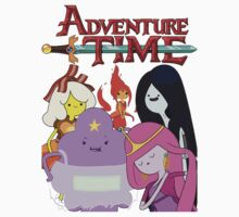 ADVENTURE TIME by Adrián Pi