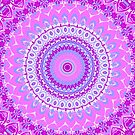 Pink Spice Mandala by Vicki Field