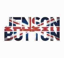 Jenson Button - British Flag by FormulaFans