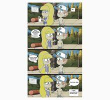 gravity falls comic 17 by kiragf
