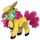 Pinkie Mask by linamomokoart
