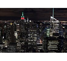 New York, New York! Photographic Print