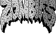 Flatbush Zombies Logo - Grey by Ben McCarthy