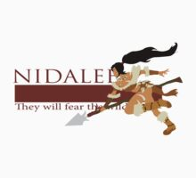 Nidalee - They Will Fear the Wild by xisisx
