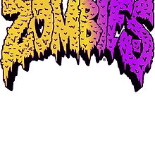 Flatbush Zombies Logo - Yellow/Purple by Ben McCarthy