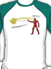 Ironman vs. Pikachu T-Shirt
