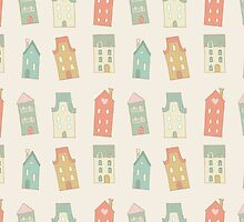 Houses pattern by olarty