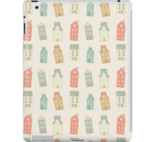 Houses pattern iPad Case/Skin