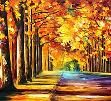 OAK ALLEY by Leonid  Afremov