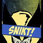 Wolverine Snikt! by fletchboogie