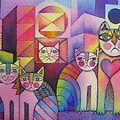 Rainbow City Cats by Karin Zeller