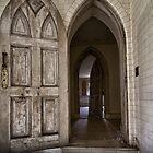Hallway of doors by Marzena Grabczynska Lorenc